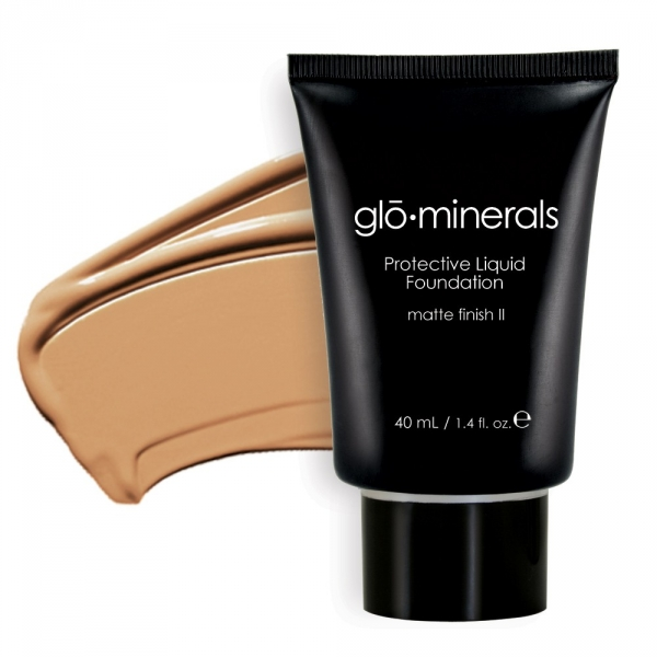 gloProtective liquid foundation II-matt golden