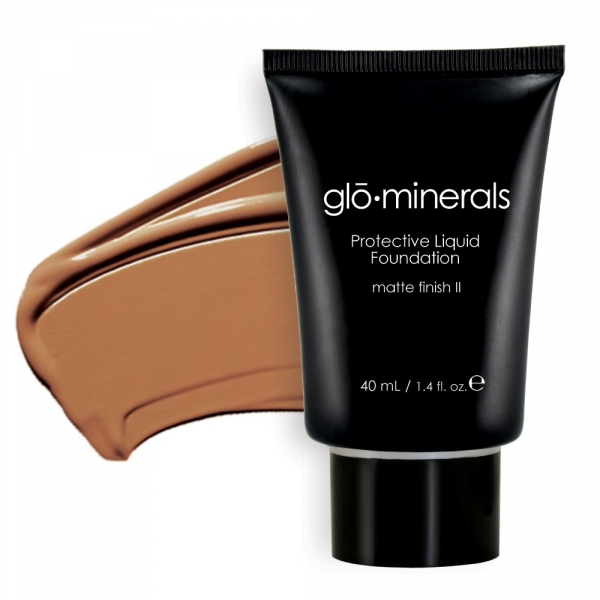gloProtective liquid foundation II-matt honey