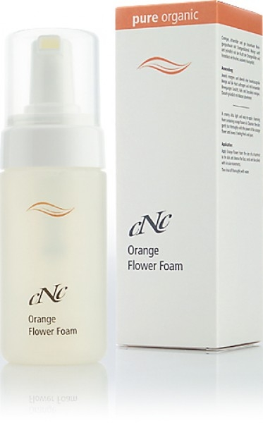 pure organic Orange Flower Foam